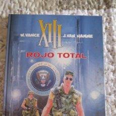 Cómics: XIII - ROJO TOTAL N. 5. Lote 57554532
