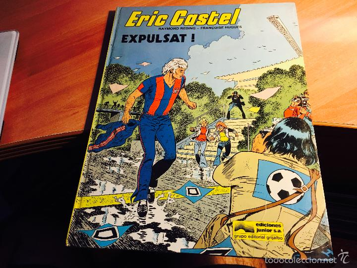 ERIC CASTEL Nº 3 CATALAN TAPA DURA 1985 (COI2) (Tebeos y Comics - Grijalbo - Eric Castel)