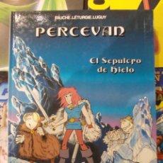 Cómics: PERCEVAN-EL SEPULCRO DE HIELO-Nº2-GRIJALBO-TAPA DURA. Lote 57591035