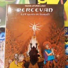Cómics: PERCEVAN-LA ESPADA DE GANAEL-Nº3-GRIJALBO-TAPA DURA. Lote 57591062