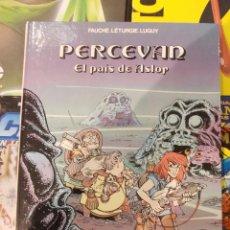 Cómics: PERCEVAN-EL PAIS DE ASLOR-Nº4-GRIJALBO.-TAPA DURA. Lote 57591130