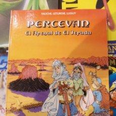 Cómics: PERCEVAN-EL ARENAL DE EL JERADA-Nº5-GRIJALBO.-TAPA DURA. Lote 57591156