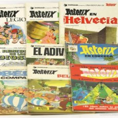 Cómics: 7692 - LOTE DE ASTÉRIX. 9 TOMOS(VER DESCRIP). EDIT. GRIJALBO/DARGAUD. 1967/1983.. Lote 57597654