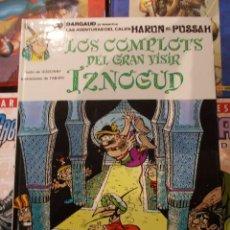 Cómics: LAS AVENTURAS DEL CALIFA HARUN EL PUSSAH-IZNOGUD / LOS COMPLOTS DEL GRAN VISIR-Nº10-GRIJALBO. Lote 86415647