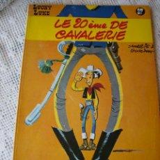 Cómics: **COMIC TAPAS DURAS DE,----LUCKY LUKE----LE 20 ÈME DE CAVALERIE (1972) EN FRANCÉS**. Lote 57731081