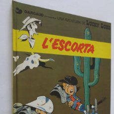 Cómics: LUCKY LUKE L´ESCORTA. Lote 57817693