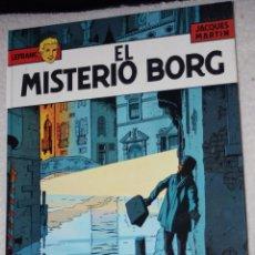Fumetti: LEFRANC DE JACQUES MARTIN TOMO Nº3 : EL MISTERIO BORG (EXCELENTE RELACION PRECIO/EDICION) -. Lote 57866637