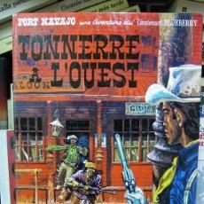 Comics: TONNERRE A L'OUEST (TEMPESTAD EN EL OESTE, ORIGINAL FRANCÉS) TENIENTE BLUEBERRY - CÓMIC. Lote 57909421