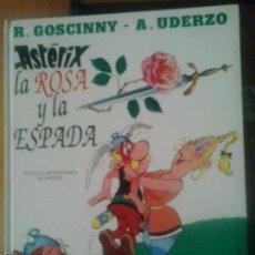 Cómics: ASTERIX LA ROSA Y LA ESPADA - EDITORIAL BRUGUERA, S.A.. Lote 57915531