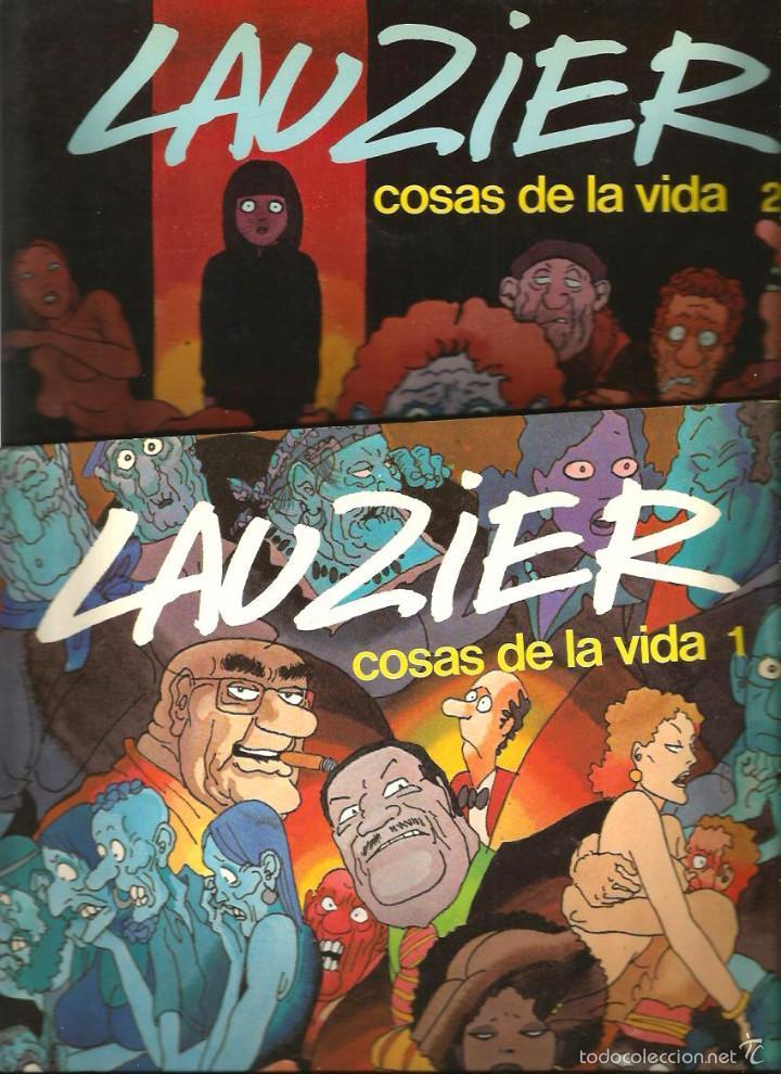 Cómics: LAUZIER - LAS COSAS DE LA VIDA (LOTE VOLUMENES 1, 2 , 3 Y 4) - Foto 2 - 57921271