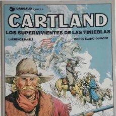 Cómics: TOMO CARTLAND LOS SUPERVIVIENTES DE LAS TINIEBLAS MICHEL BLANC-DUMONT. Lote 57959649