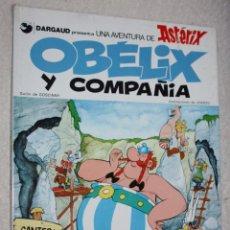Cómics: ASTERIX (DARGAUD-JUNIOR): OBELIX Y COMPAÑIA.(1ª EDICIÓN ,1976). Lote 57979507