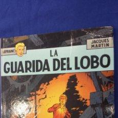 Fumetti: LEFRANC Nº 4 LA GUARIDA DEL LOBO - JACQUES MARTIN - TAPA DURA - JUNIOR / GRIJALBO 1986 . Lote 58211241