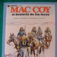 Cómics: MAC COY Nº 14 EL DESIERTO DE LOS LOCOS. Lote 58224598