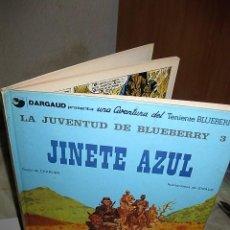 Comics : CÓMIC OESTE LA JUVENTUD DE BLUEBERRY 'JINETE AZUL' 1ª EDIC 1981. Lote 58228173