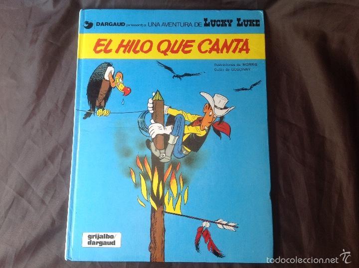 EL HILO QUE CANTA 1986 LUCKY LUKE (Tebeos y Comics - Grijalbo - Lucky Luke)