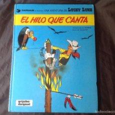 Cómics: EL HILO QUE CANTA 1986 LUCKY LUKE. Lote 58331788