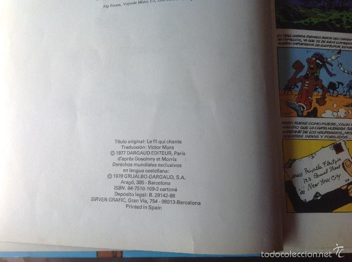 Cómics: El Hilo que Canta 1986 Lucky Luke - Foto 2 - 58331788
