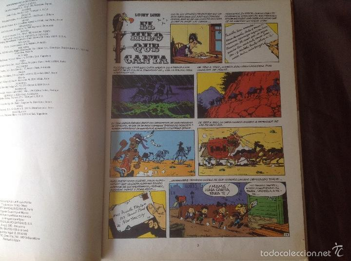 Cómics: El Hilo que Canta 1986 Lucky Luke - Foto 3 - 58331788