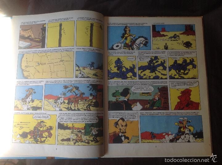 Cómics: El Hilo que Canta 1986 Lucky Luke - Foto 4 - 58331788