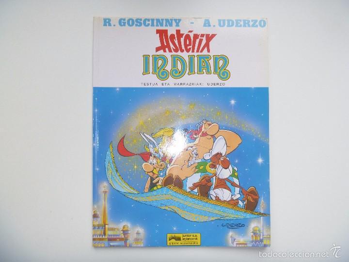 ASTERIX EUSKERA INDIAN EDO MILA ETA BAT ORDUEN IPUINA (Tebeos y Comics - Grijalbo - Asterix)