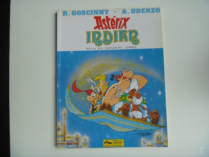 Cómics: Asterix euskera Indian edo mila eta bat orduen ipuina - Foto 2 - 268603144