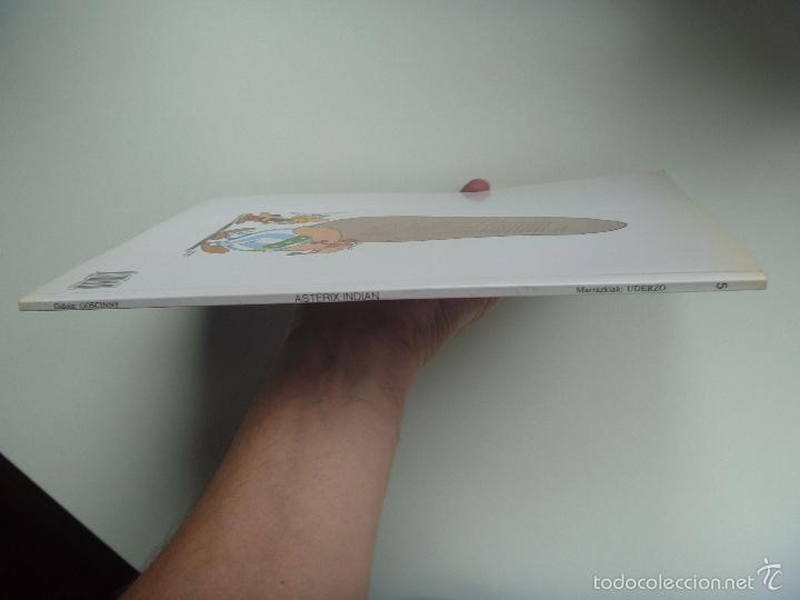 Cómics: Asterix euskera Indian edo mila eta bat orduen ipuina - Foto 3 - 268603144