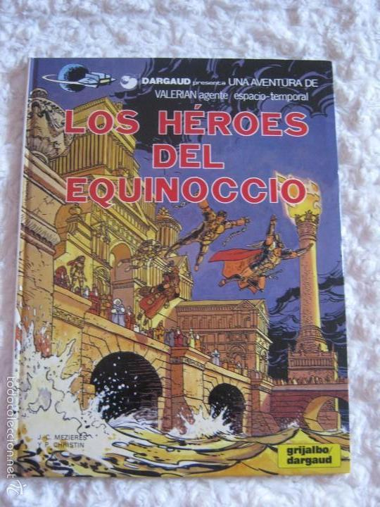 UNA AVENTURA DE VALERIAN - LOS HEROES DEL EQUINOCCIO - 7 (Tebeos y Comics - Grijalbo - Valerian)
