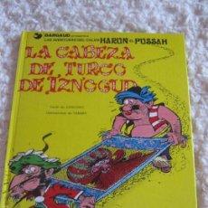 Cómics: LAS AVENTURAS DEL CALIFA HARUN EL PUSSAH - LA CABEZA DEL TURCO DE IZNOGUD N. 6. Lote 58451901