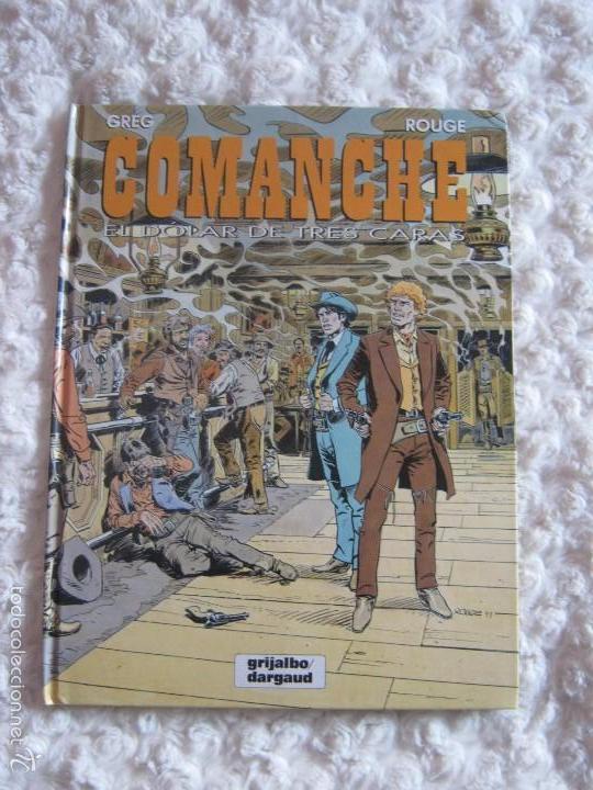 COMANCHE - EL DOLAR DE TRES CARAS N. 12 (Tebeos y Comics - Grijalbo - Comanche)