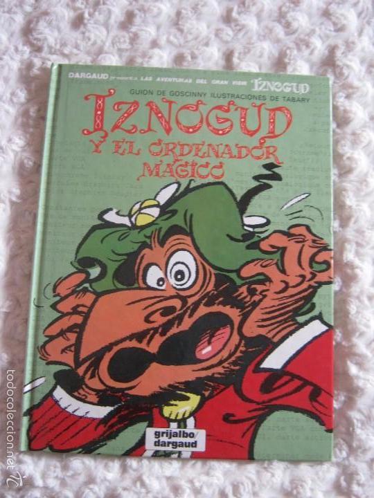LAS AVENTURAS DEL GRAN VISIR IZNOGUD N 14 - IZNOGUD Y EL ORDENADOR MAGICO (Tebeos y Comics - Grijalbo - Iznogoud)