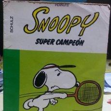 Cómics: SNOOPY SUPER CAMPEÓN - GRIJALBO 16 / 22. Lote 58545004