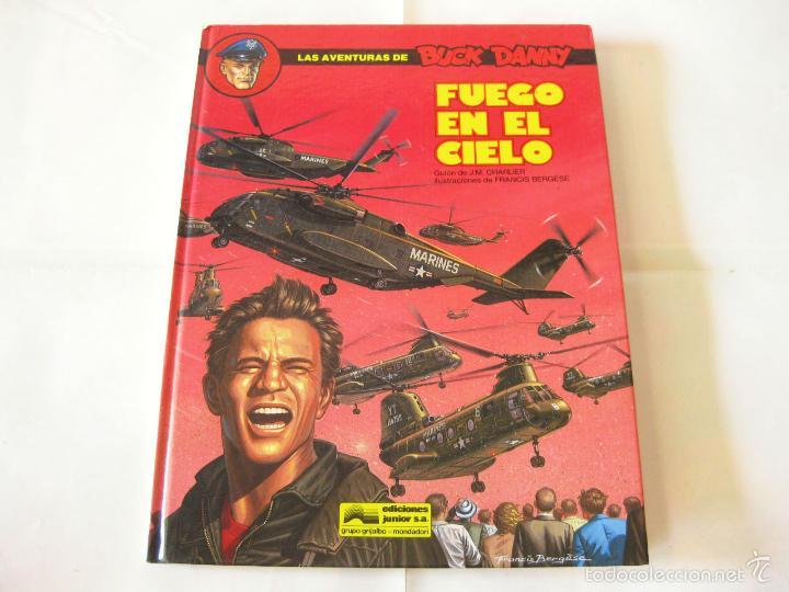 COMIC DE AVENTURAS DE BUCK DANNY Nº 43 - FUEGO EN EL CIELO - EXCLUSIVA RAREZA DE FABRICA (Tebeos y Comics - Grijalbo - Buck Danny)