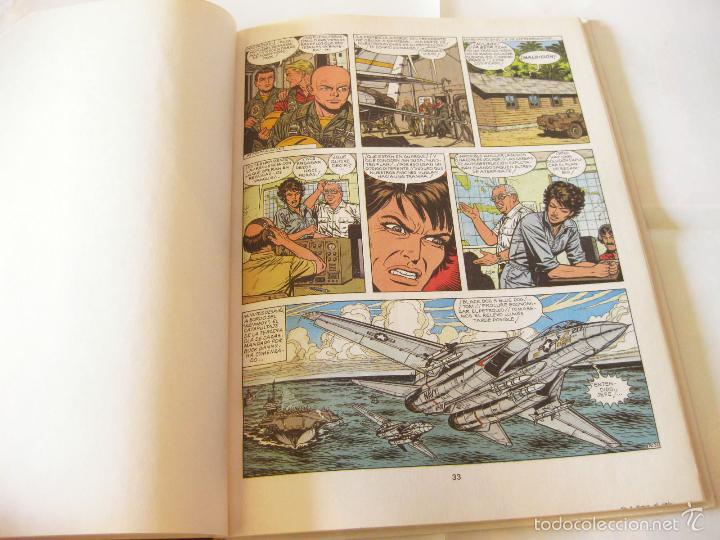 Cómics: COMIC DE AVENTURAS DE BUCK DANNY Nº 43 - FUEGO EN EL CIELO - EXCLUSIVA RAREZA DE FABRICA - Foto 2 - 58573501