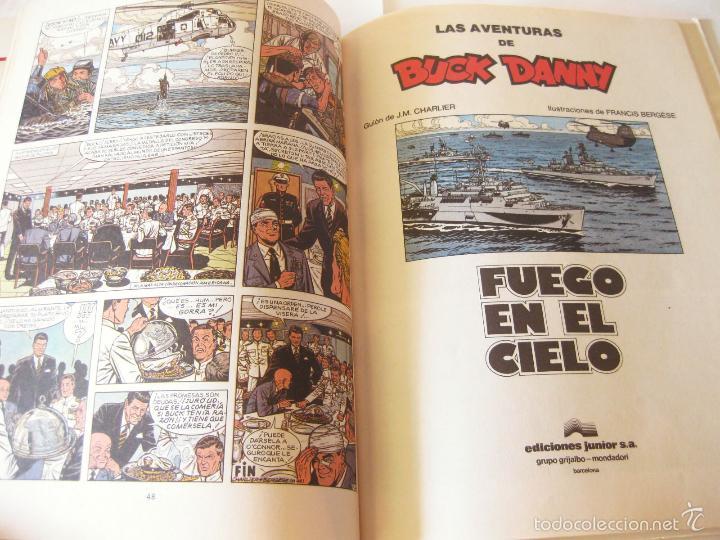 Cómics: COMIC DE AVENTURAS DE BUCK DANNY Nº 43 - FUEGO EN EL CIELO - EXCLUSIVA RAREZA DE FABRICA - Foto 3 - 58573501