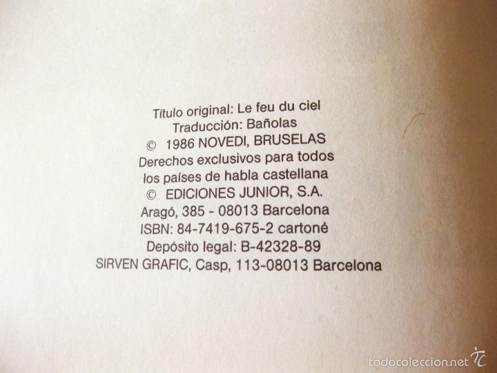 Cómics: COMIC DE AVENTURAS DE BUCK DANNY Nº 43 - FUEGO EN EL CIELO - EXCLUSIVA RAREZA DE FABRICA - Foto 4 - 58573501