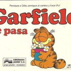 Cómics: GARFIELD 12.GARFIELD SE PASA.GRIJALBO.1990.. Lote 58591219