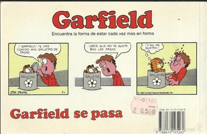 Cómics: Garfield 12.Garfield se pasa.Grijalbo.1990. - Foto 2 - 58591219