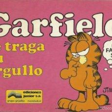 Cómics: GARFIELD 18.GARFIELD SE TRAGA SU ORGULLO.GRIJALBO.. Lote 58591483