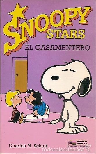 SNOOPY STARS EL CASAMIENTO CHARLES M SCHULZ EDICIONES JUNIOR (Tebeos y Comics - Grijalbo - Otros)