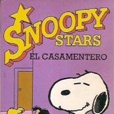 Cómics: SNOOPY STARS EL CASAMIENTO CHARLES M SCHULZ EDICIONES JUNIOR. Lote 58605633