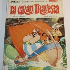 Cómics: ASTERIX LA GRAN TRAVESÍA - EDITORIAL BRUGUERA - COLECCIÓN PILOTE - 1975. Lote 58631261