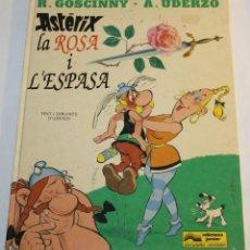 Cómics: ASTERIX LA ROSA I L'ESPASA - EDICIONS JUNIOR - GRUP GRIJALBO MONDADORI - 1991. Lote 58631294