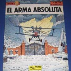 Fumetti: LEFRANC Nº 8 EL ARMA ABSOLUTA GRIJALBO. Lote 58644833