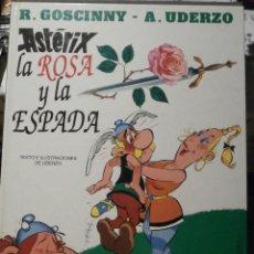 Cómics: COMIC - TEBEO - ASTERIX LA ROSA Y LA ESPADA - EDICIONES JUNIOR - 1991 - 1ª EDICIÓN - . Lote 58645092