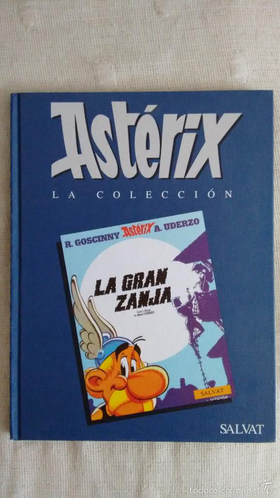 ASTERIX LA GRAN ZANJA (Tebeos y Comics - Grijalbo - Asterix)