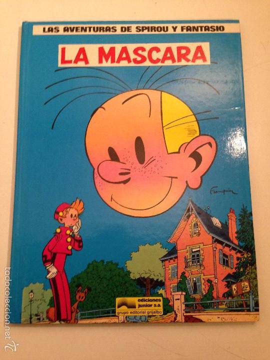 LAS AVENTURAS DE SPIROU Y FANTASIO Nº 5. LA MASCARA. JUNIOR GRIJALBO 1988. (Tebeos y Comics - Grijalbo - Spirou)