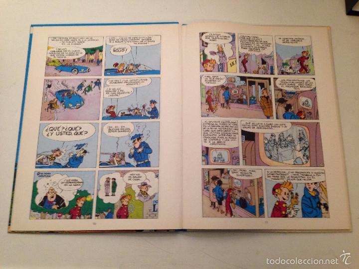 Cómics: LAS AVENTURAS DE SPIROU Y FANTASIO Nº 5. LA MASCARA. JUNIOR GRIJALBO 1988. - Foto 2 - 58852211