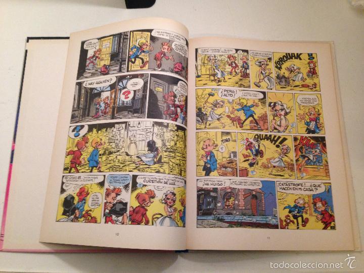 Cómics: LAS AVENTURAS DE SPIROU Y FANTASIO Nº 21. ¿QUIEN DETENDRA A CIANURO?. JUNIOR GRIJALBO 1989 - Foto 2 - 58853721