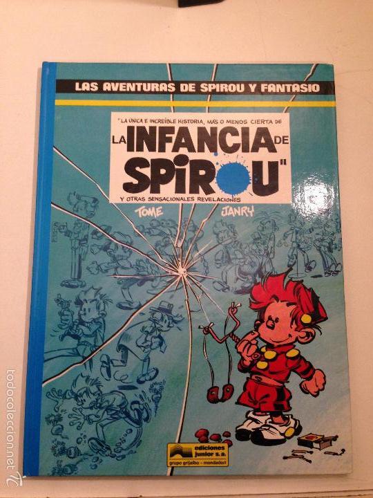 LAS AVENTURAS DE SPIROU Y FANTASIO Nº 24. LA INFANCIA DE SPIROU. JUNIOR GRIJALBO 1990 (Tebeos y Comics - Grijalbo - Spirou)